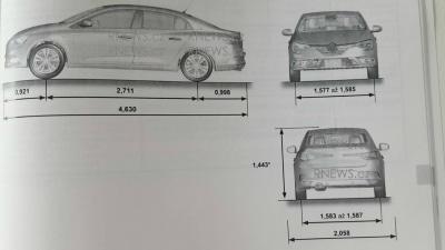 Renault Megane Sedan Leaked In Handbook Images?