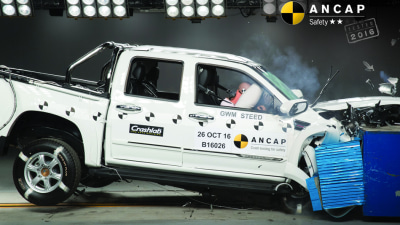 Great Wall Steed Scores 2-Star ANCAP Safety Rating - 5-Stars For Hyundai i30 | Honda Civic And Mercedes-Benz Marco Polo Activity