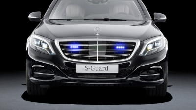 Super Secure Mercedes-Benz S-Guard Officially Revealed