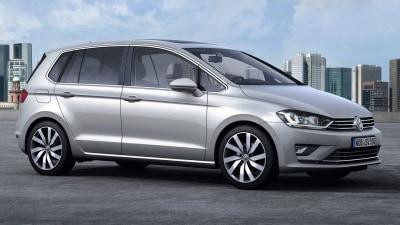Volkswagen Golf Sportsvan 'Concept' Revealed In Frankfurt