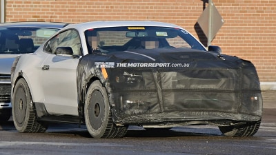 2015 Mustang GT500 Spied Testing... Or Is That GT350? Mach 1?