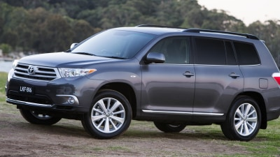 Toyota Kluger Altitude Back Again