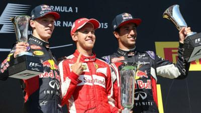 2015 Hungarian F1 GP: Sebastian Vettel Wins Thrilling Race