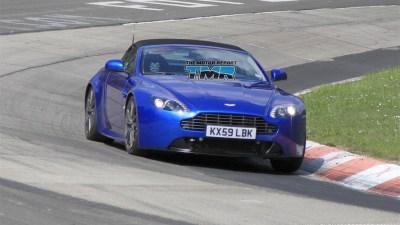 2010 Aston Martin Vantage Roadster Update Spied Testing