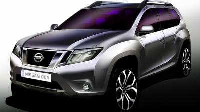 Nissan Teases New Terrano SUV