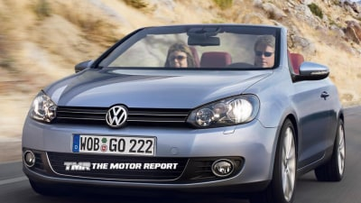 2012 Volkswagen Golf Cabrio Confirmed For Production