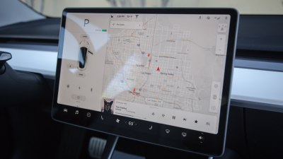 Tesla adds web-surfing function to infotainment systems