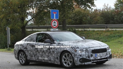 BMW 3 Series Coupe Spied... Or 4 Series?