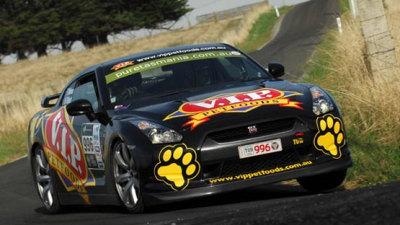 Targa Tasmania: Tony Quinn Takes Narrow Lead After Day One