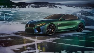 BMW Concept M8 Gran Coupe unleashed