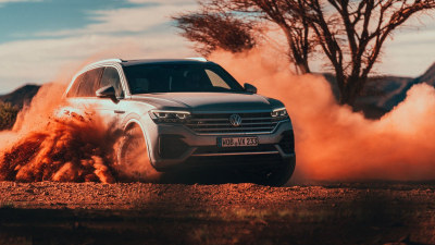 Volkswagen Touareg international preview drive