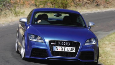 2011 Audi TT RS Gets Seven-Speed S Tronic Auto, Australian Debut Unclear