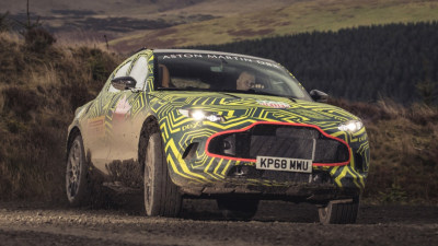 DBX name confirmed for Aston Martin SUV