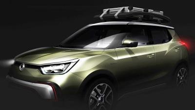 SsangYong X100 To Get Paris Preview Through XIV Concepts