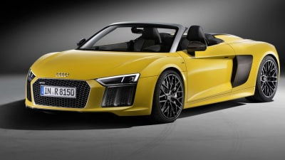2017 Audi R8 Spyder Unveiled At New York Auto Show