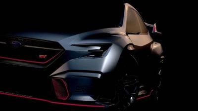 Subaru Viziv Performance STI Concept Teased