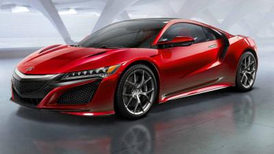 2016 Honda NSX Debuts At Detroit: Video