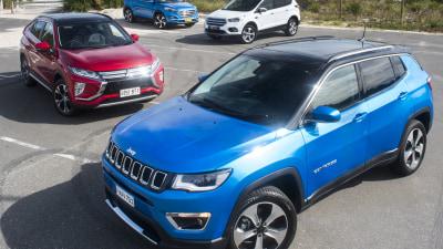 Compact SUV Comparison: Ford Escape v Hyundai Tucson v Jeep Compass v Mitsubishi Eclipse Cross
