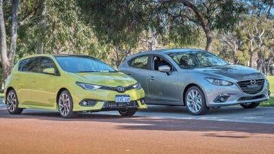 Small Hatch Showdown – Toyota Corolla ZR vs Mazda 3 SP25 Comparison Test