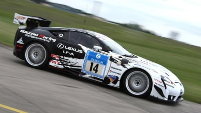 Lexus LF-A Racer Reveals New Colours For Nurburgring 24-Hour