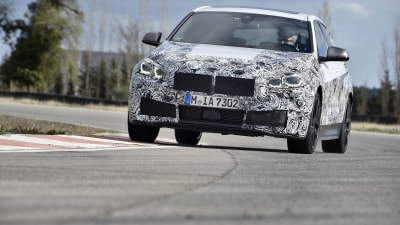 BMW teases new-generation 1-Series