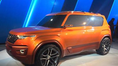Hyundai Reveals Carlino Small SUV At Delhi Auto Show