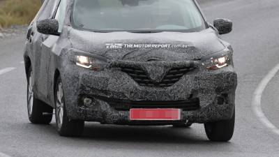 2016 Renault Koleos Spotted Testing