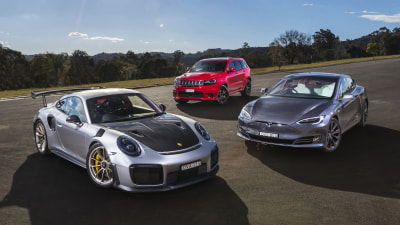 Crazy cars: Driving the exclusive 500kW club with Porsche, Tesla and Jeep