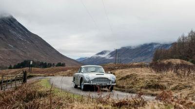Aston Martin brings back the DB5