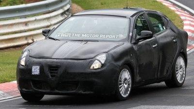 2010 Alfa Romeo Milano Spied Testing