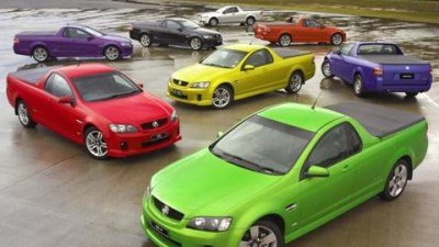 New Holden VE Ute Range