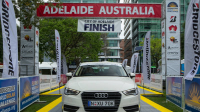 Audi Uses World Solar Challenge To Showcase A3 Cylinder On Demand