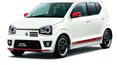 Suzuki Launches Alto Turbo RS… But Only In Japan