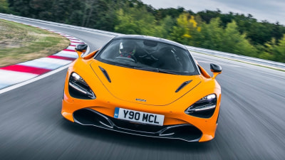 McLaren 720S Track Pack overseas preview drive
