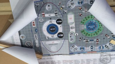 Ford 'Phoenix' GT Concept Confirmed In Detroit Auto Show Diagram?