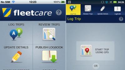 Fleetcare Logit: ATO-Friendly FBT Phone App For Logging Trip Data