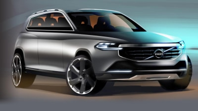 New Volvo XC90 Teased In Concept Art