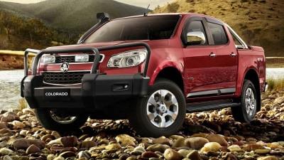 2012 Holden Colorado Bull Bar Keeps ANCAP 5-Star Safety Rating