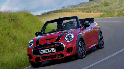 2016 MINI Convertible Gets The John Cooper Works Treatment