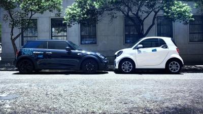 BMW and Daimler establish urban mobility joint venture