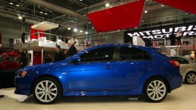 Mitsubishi Lancer Sportback, Ralliart Lancer: 2008 Sydney Motor Show