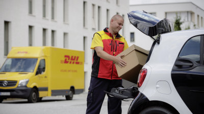 Now That's Smart - Your Parcels Delivered Right To Your Boot