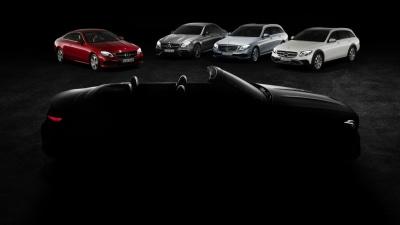 2017 Mercedes-Benz E-Class Cabriolet Teased Ahead Of Geneva