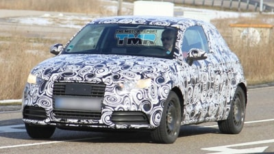 2011 Audi A1 Spied Testing In Europe
