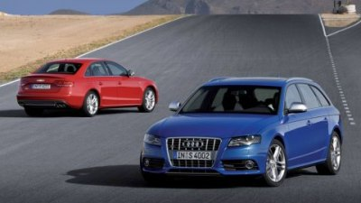 2009 Audi S4 Sedan And Avant Feature Supercharged V6