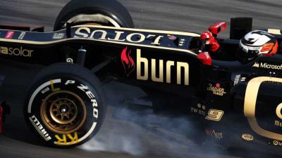 F1: Lotus Picks Up New Sponsor With Coke's Burn Energy Drink