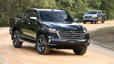 2020 Mazda BT-50 recalled due to seatbelt fault