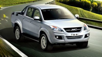 JMC Vigus Pickup: 2015 Price And Features For Australia