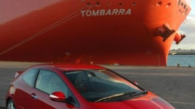Honda Civic Type R Touches Down In Oz
