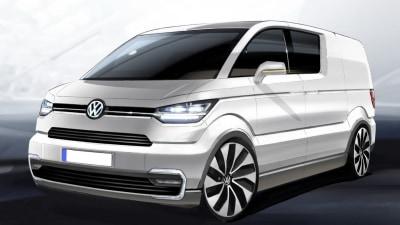 Volkswagen Teases e-Co-Motion Electric Van Concept